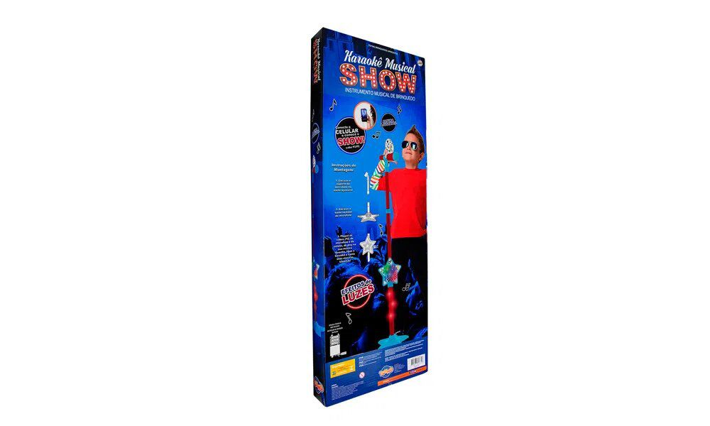 Karaokê Musical Show Infantil - Toyng