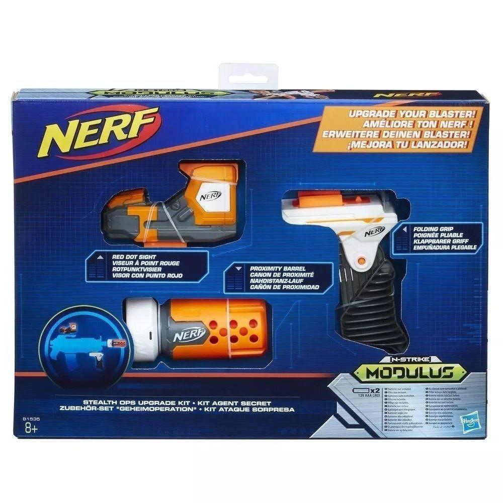 Kit Acessório Nerf N Strike Modulus Ataque Surpresa B1535