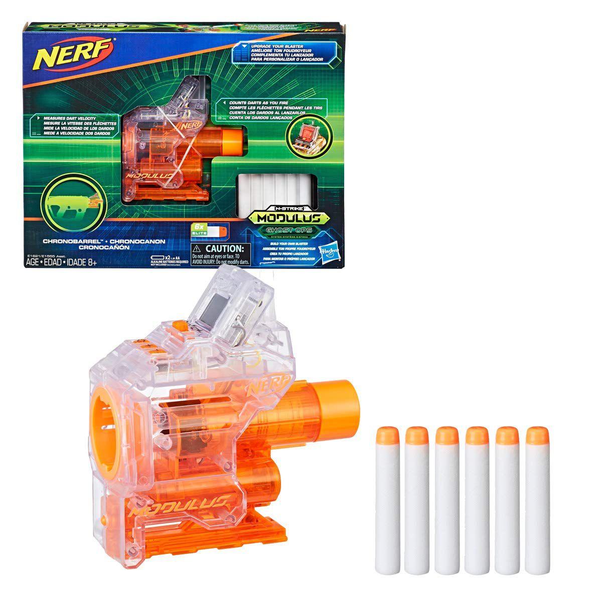 Kit Acessórios Nerf - Modulus - Chronobarrel - Hasbro E1621