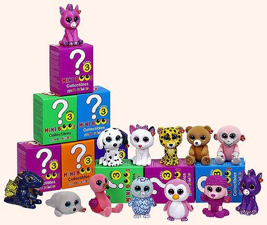 Promoção Kit 6 Bonecos Mini Boos Serie 3 Sortidos - Dtc