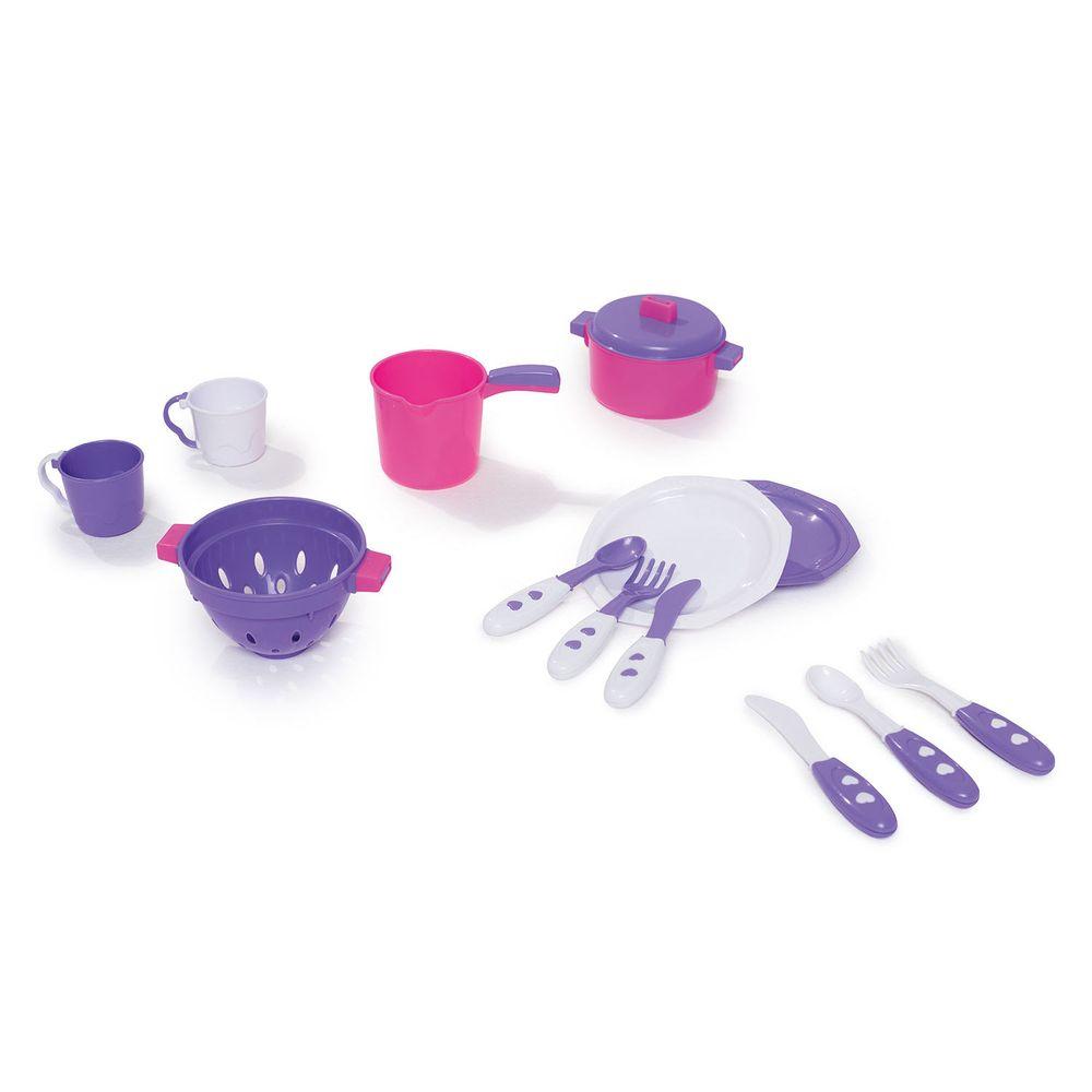 Kit Cozinha Infaltil Panelinhas Completo - Calesita