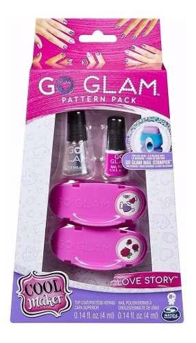 Kit Esmalte Go Glam Nail Pack Infantil Sunny - 2132