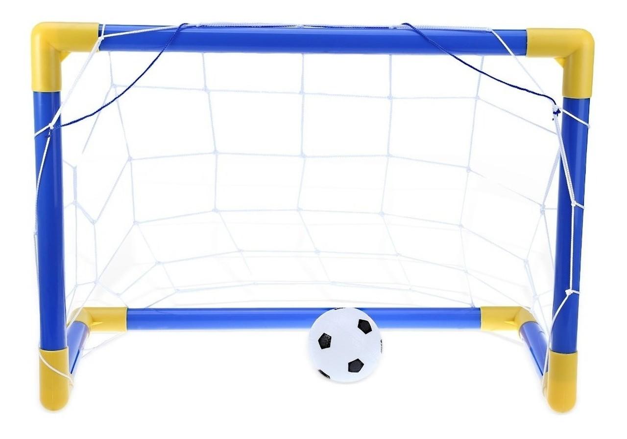 Kit Futebol Infantil Trave Gol de Craque - Dm Toys 5076