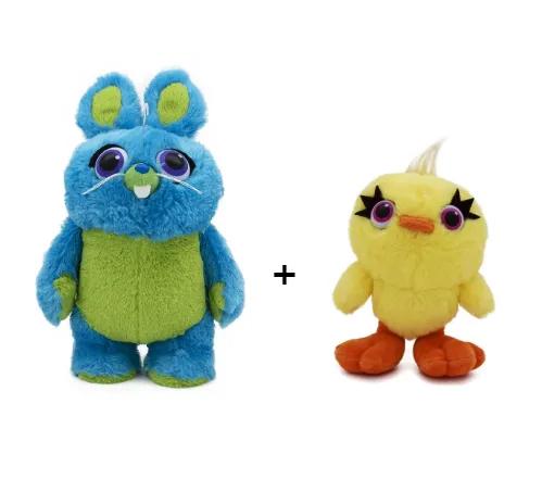 Kit Pelúcia Bunny Coelho e Ducky Pato Toy Story 4 - Toyng FULL