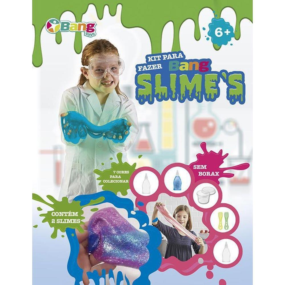 Kit Slime Médio Bang Toys - 171