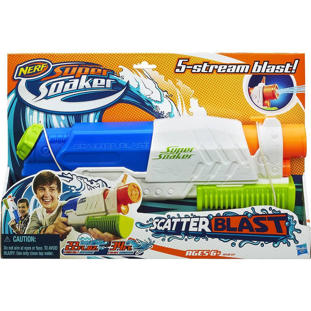 Lança Água Nerf Soa Scatter - Hasbro