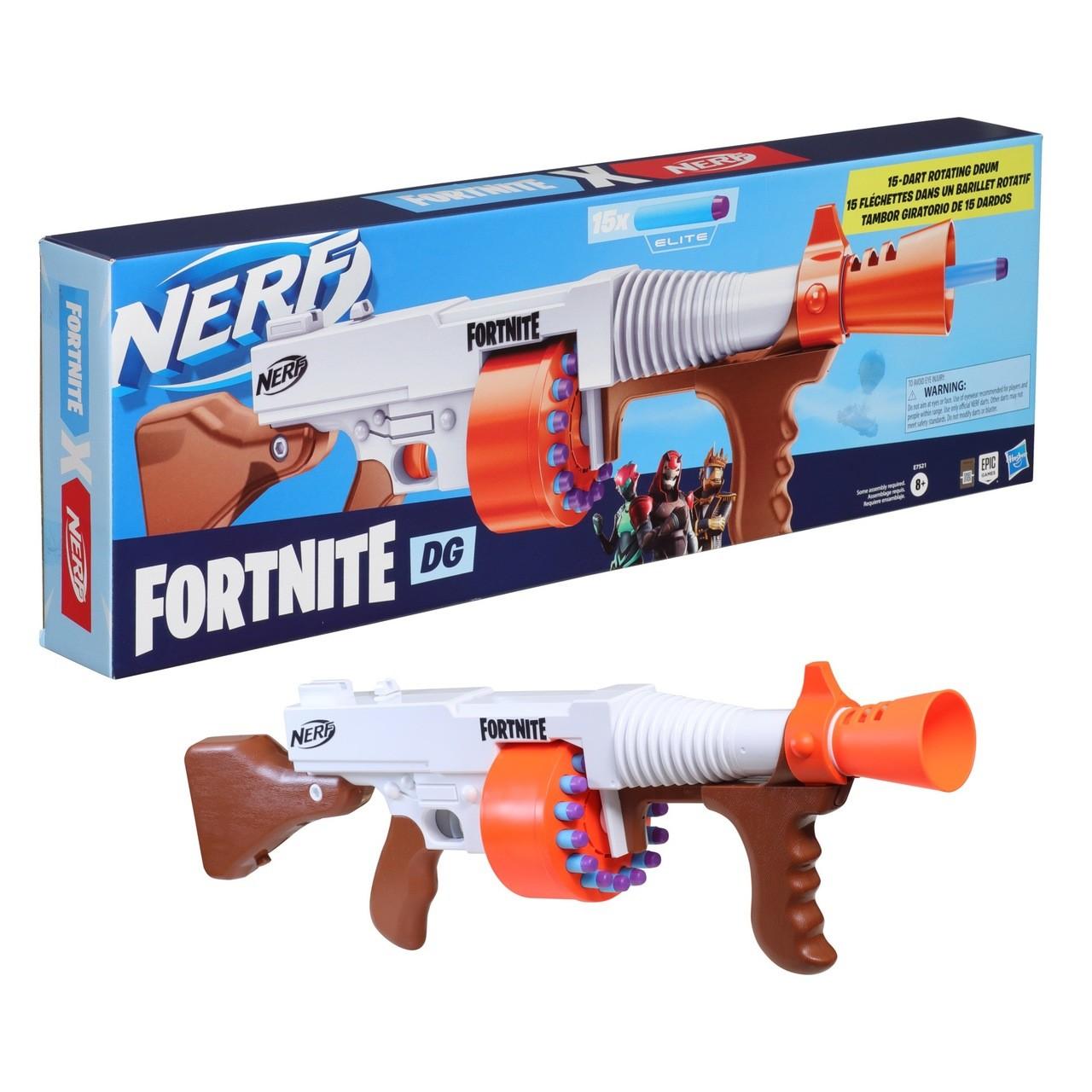 Lançador De Dardos Nerf Fortnite DG - Hasbro E9017