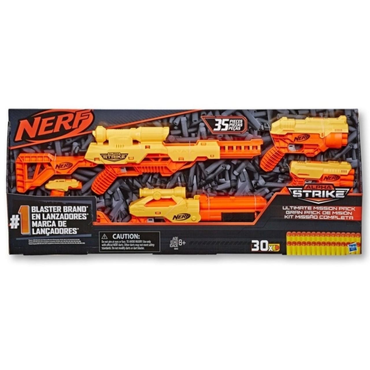 Lançador Nerf Alpha Strike Ultimate Mission - Hasbro E8340
