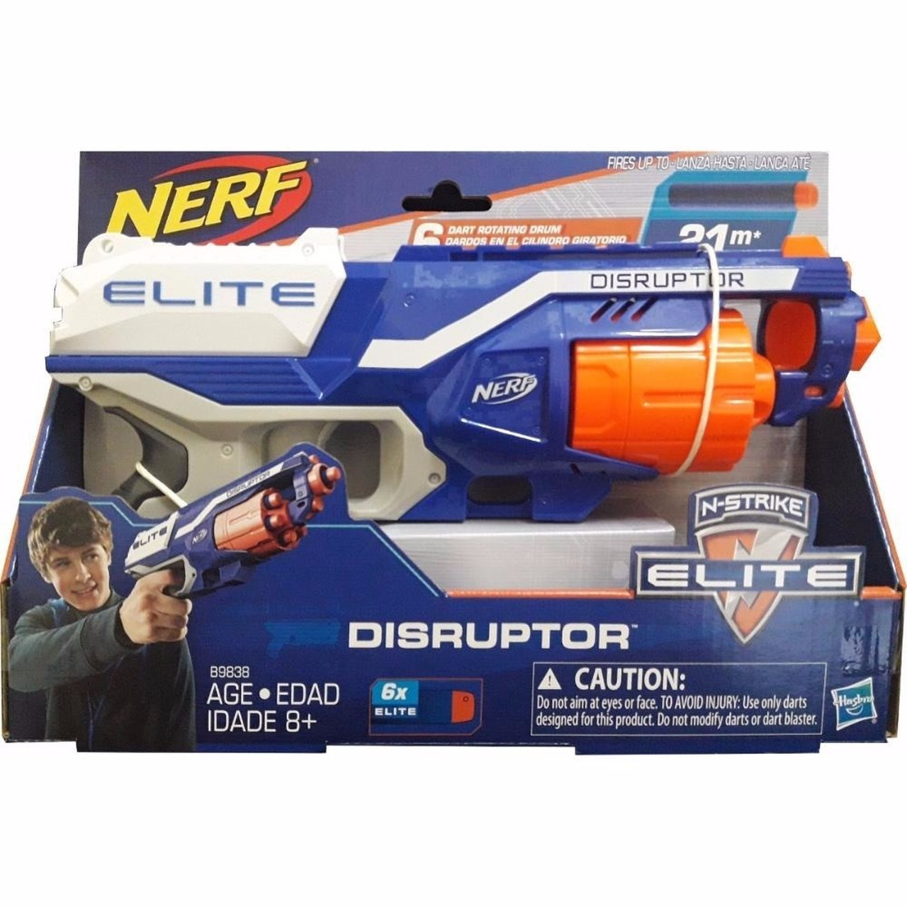 Lançador Nerf N-Strike Elite Accustrike Disruptor - Hasbro