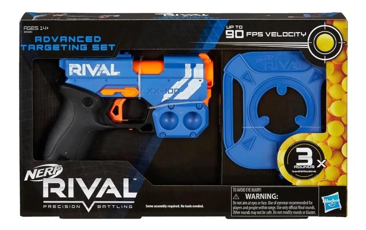 Lançador Nerf Rival Advanced Knockout Xx 100 - Hasbro E6980