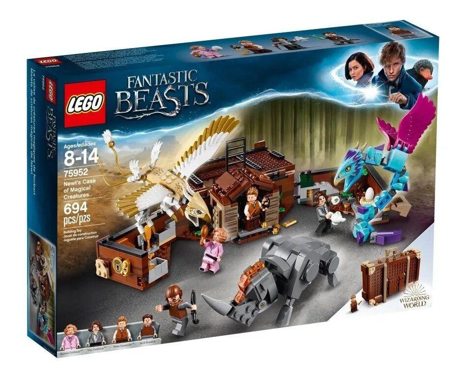 Lego Animais Fantásticos A Mala De Criaturas Magicas Original