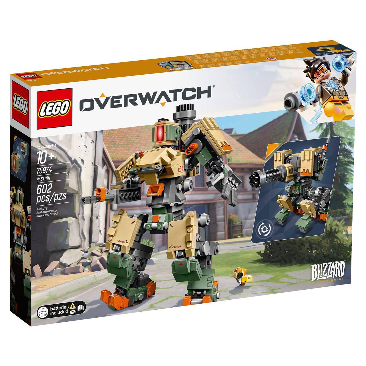 Lego Bastion Overwatch 602 Peças - 75974