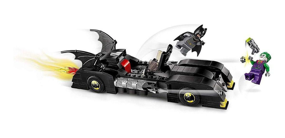 Lego Batman  Batmóvel Perseguição Ao Coringa 342 Peças