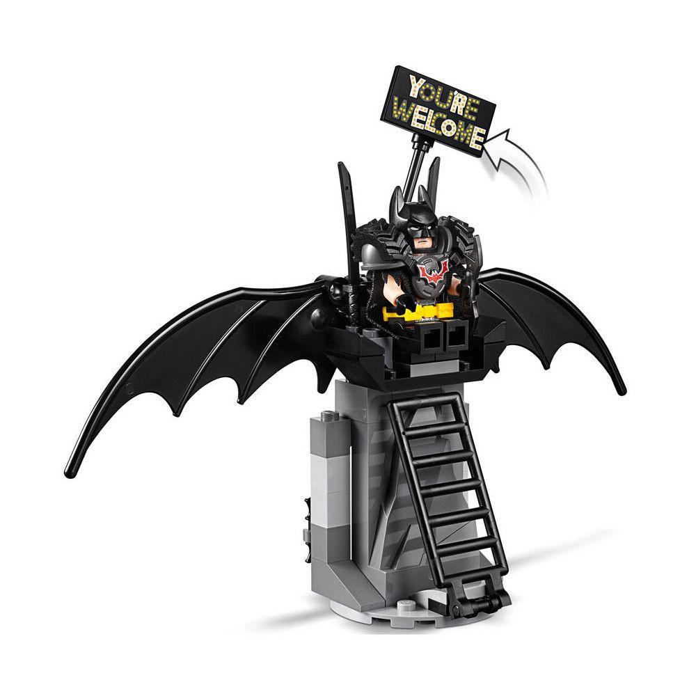 LEGO Batman e Barba de Ferro Prontos para Batalha -168 Peças