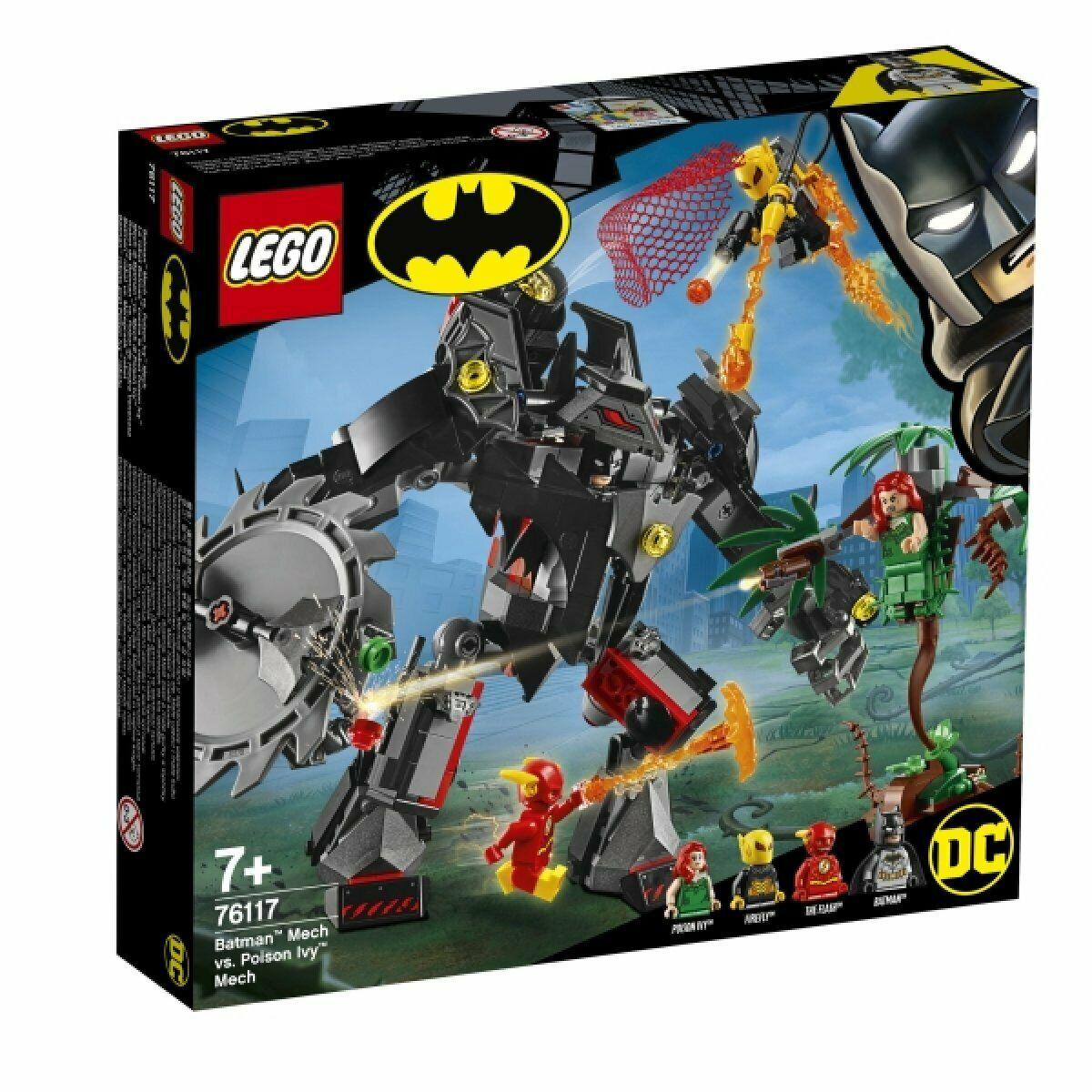 LEGO  Batman e Flash Contra Hera Venenosa e Vagalume 375 Pçs
