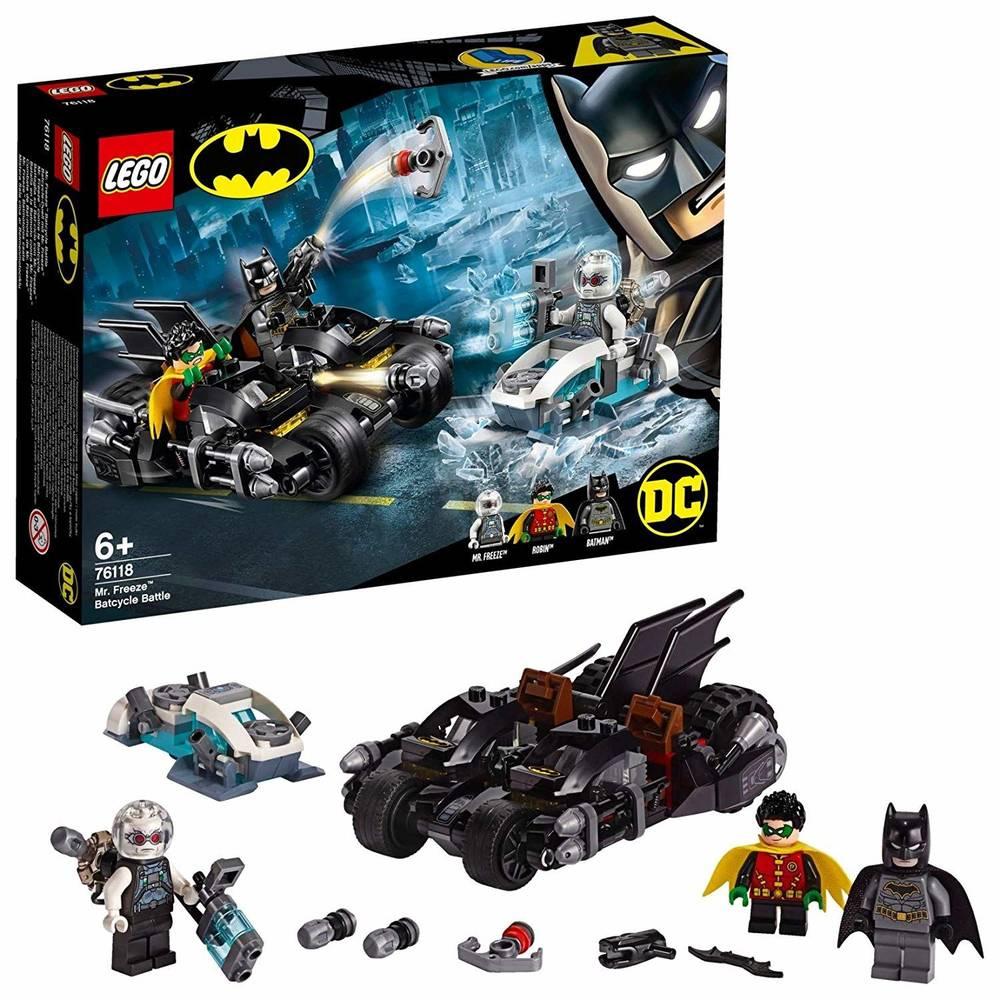 LEGO Batman Super Heroes - Batalha com Senhor Frio 200 Pç