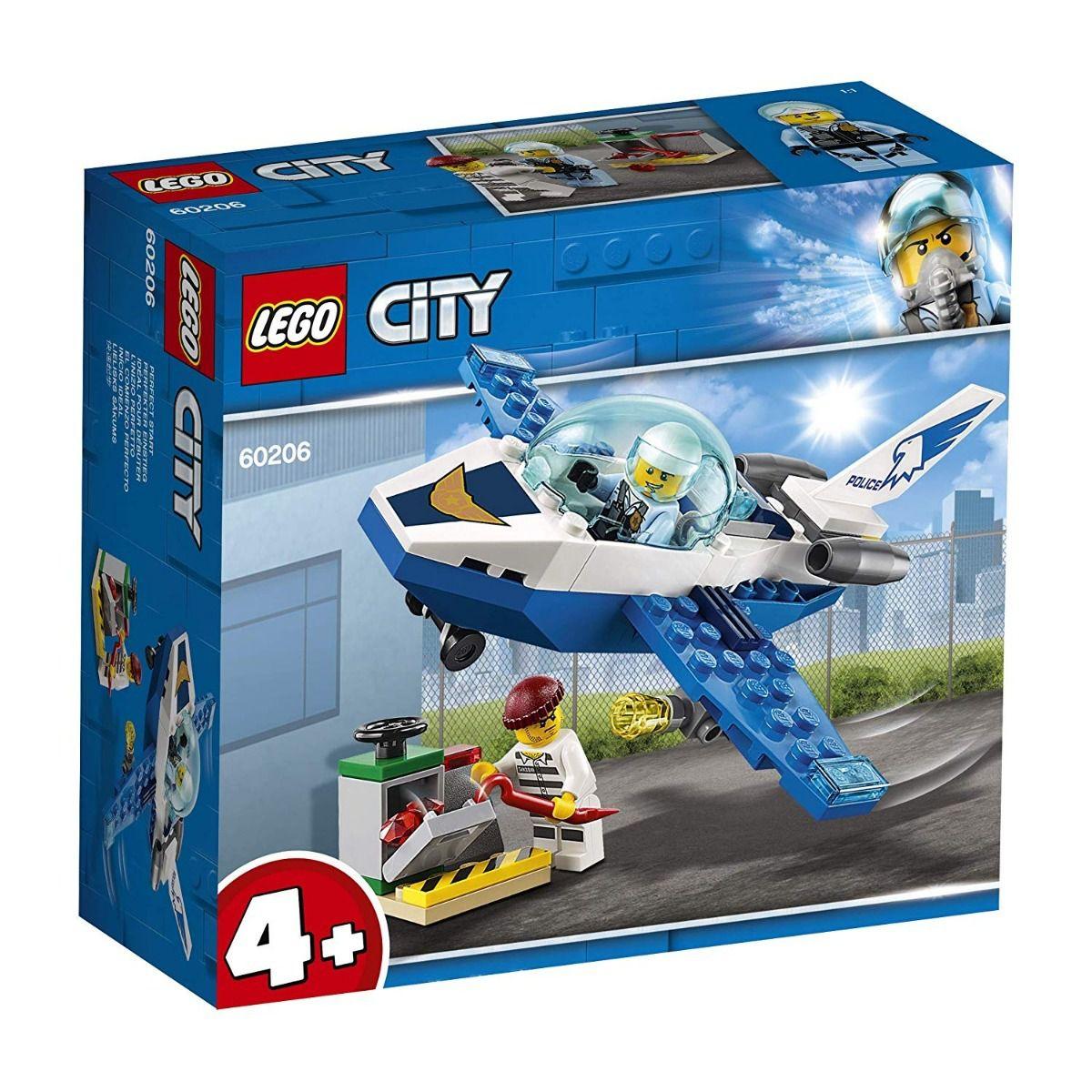 LEGO City - Patrulha Aérea - 54 Peças - 60206