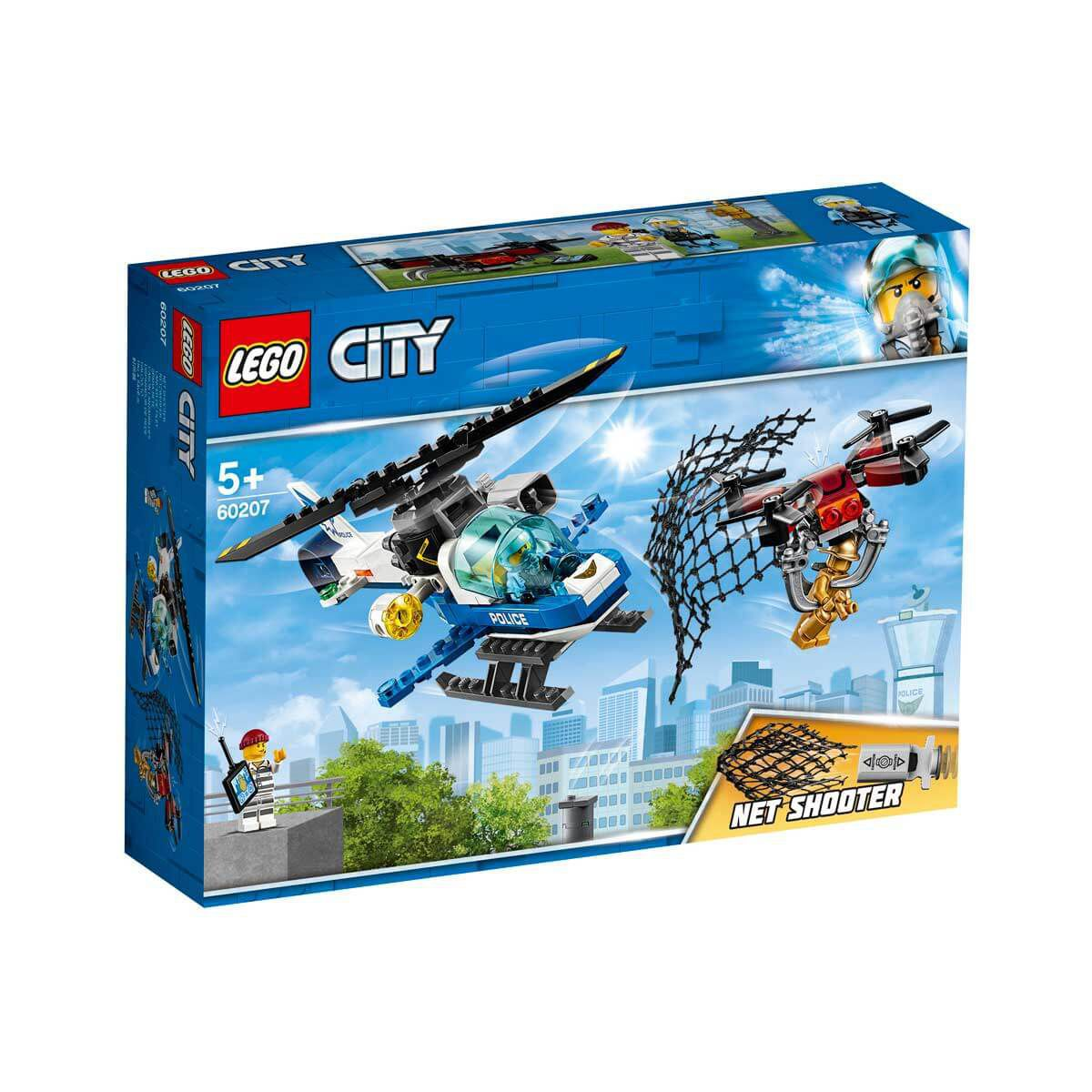 LEGO City - Perseguição de Drone - 192 Peças 60207