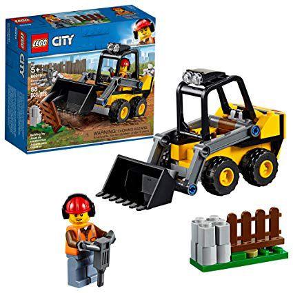LEGO City - Trator de Construção - 88 Peças - 60219