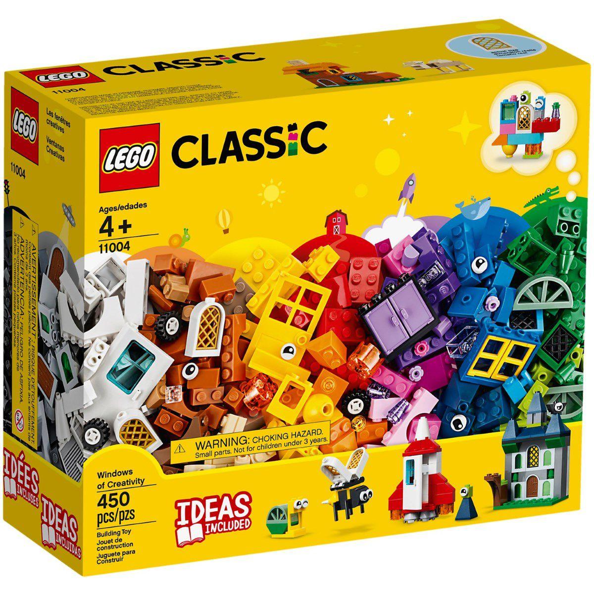 LEGO Classic 450 Peças  Janelas da Criatividade 11004 FULL