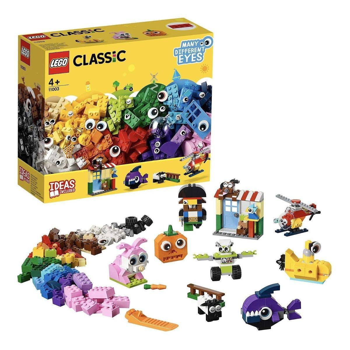 LEGO Classic  Peças e Olhos 451 Peças 11003