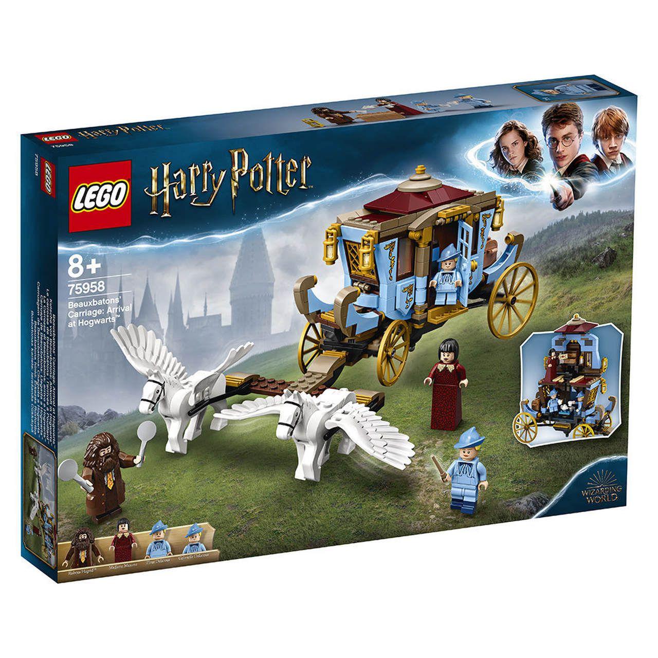 Lego Harry Potter Carruagem Beauxbatons: Chegada A Hogwarts