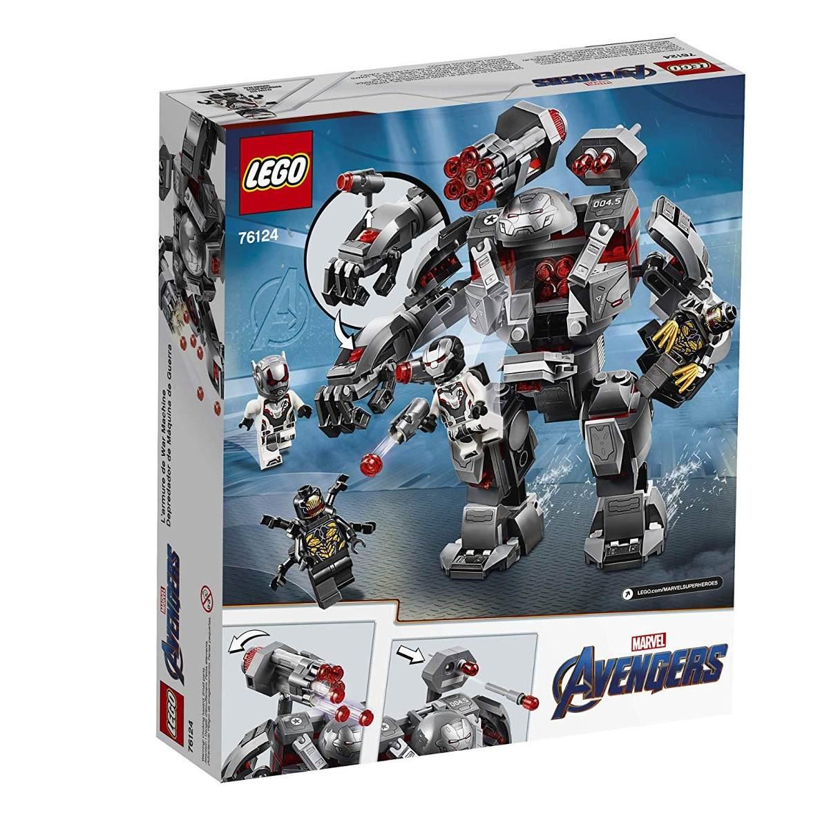 LEGO Hulkbuster do Máquina de Combate 362 Peças Marvel