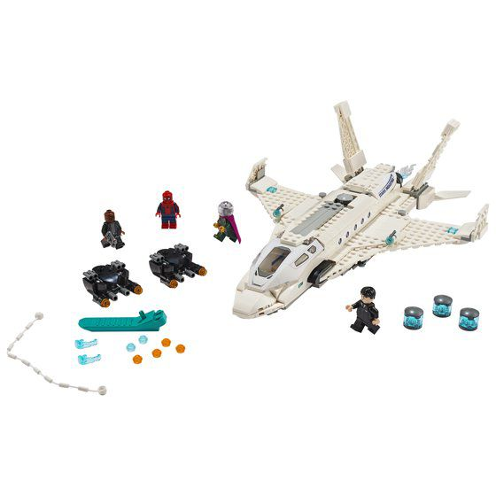 LEGO Marvel Super Heroes - Jato Stark  - 504 Peças  - 76130