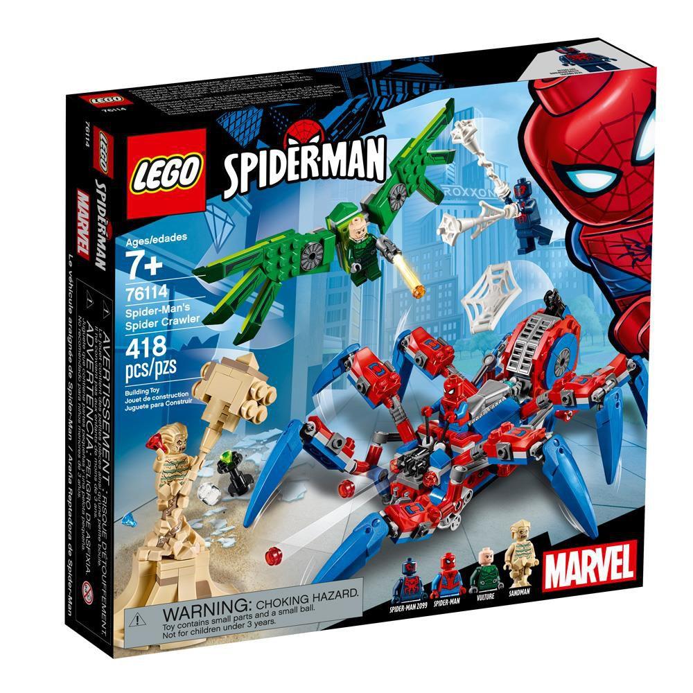 LEGO Marvel Super Heroes  Robô do Homem-Aranha - 418 Peças