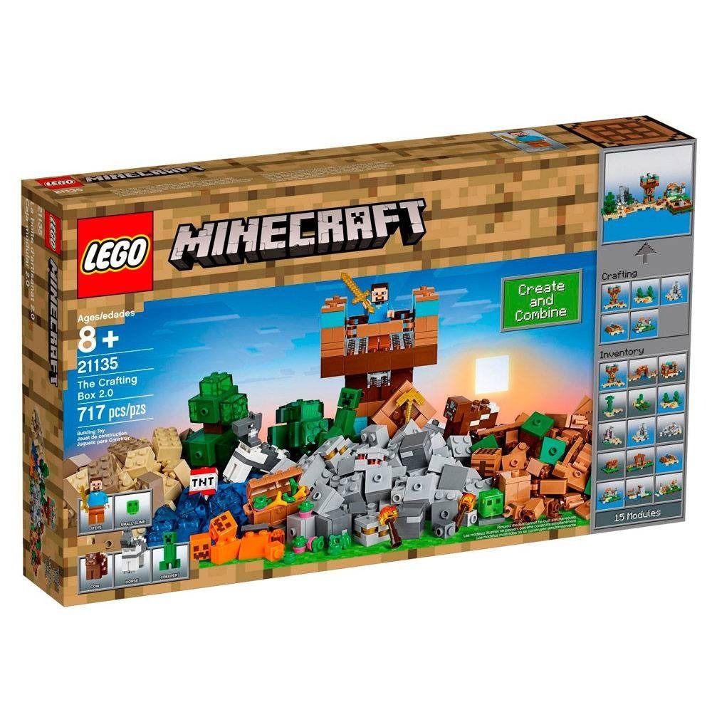 LEGO Minecraft - A Caixa de Minecraft 2.0 - 717 Pçs - 21135