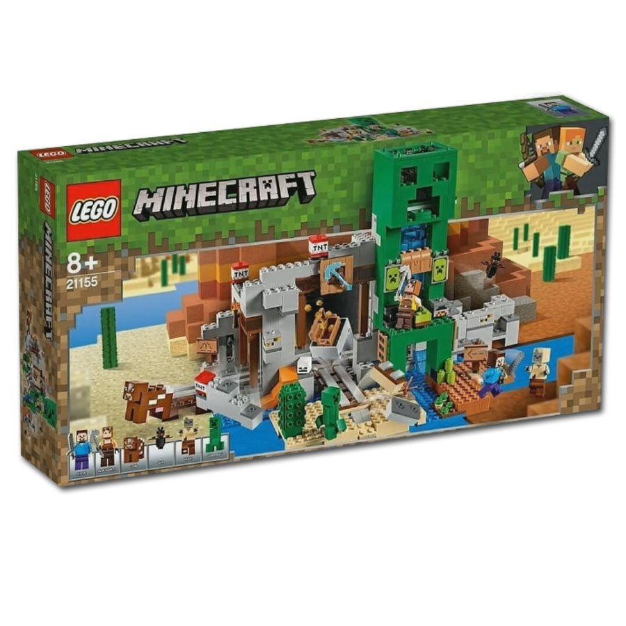 LEGO Minecraft - A Mina Creeper - 834 Peças - 21155