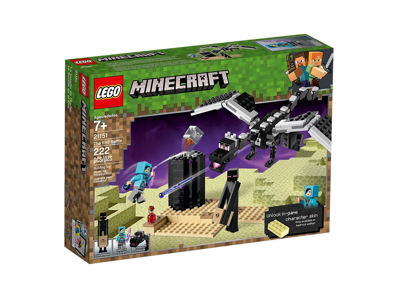Lego Minecraft - Batalha Final - 21151 Lego - 222 Peças