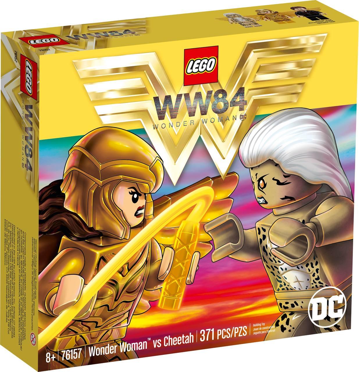 Lego Mulher Maravilha Vs Cheetah 371 Peças - LEGO 76157