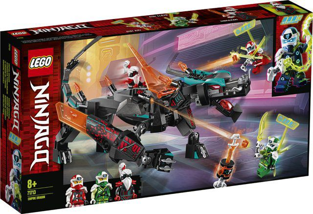 Lego Ninjago - Império do Dragão 286 Peças - Lego 71713