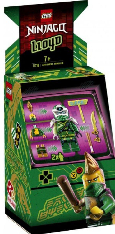 Lego Ninjago Lloyd Avatar Pod De Arcade 48 Peças - 71716