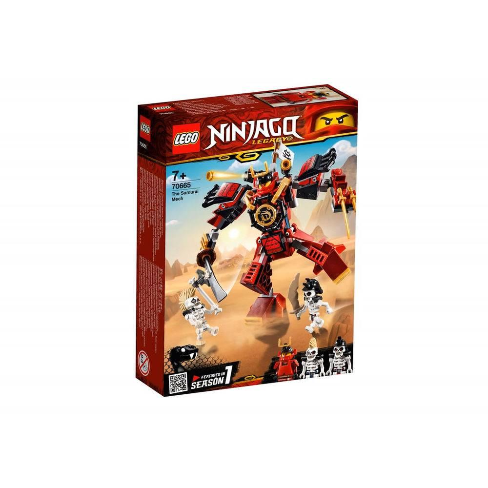 LEGO Ninjago - O Robô Samurai - 154 Peças - 70665
