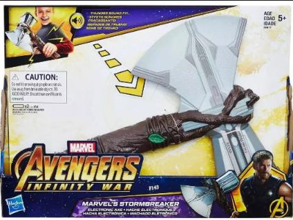 Machado StormBreaker Thor Guerra Infinita - Hasbro E0617