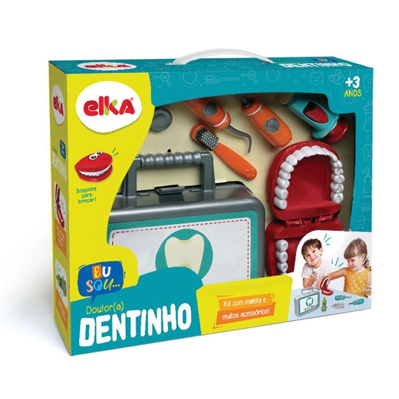 Maleta Educativa Dentista Dr. (a) Dentinho - Elka