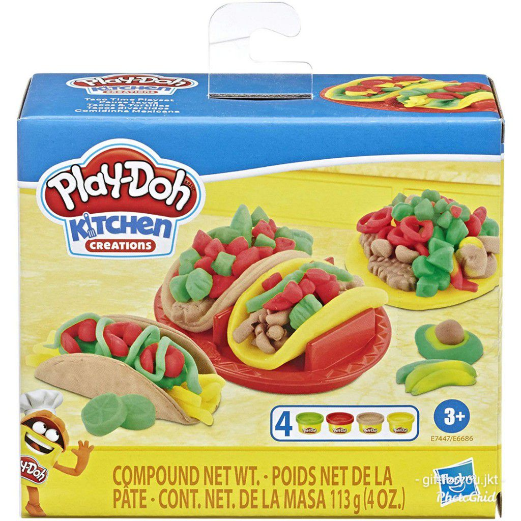 Massinha Play Doh Comidinhas Mexicanas - Hasbro E6686
