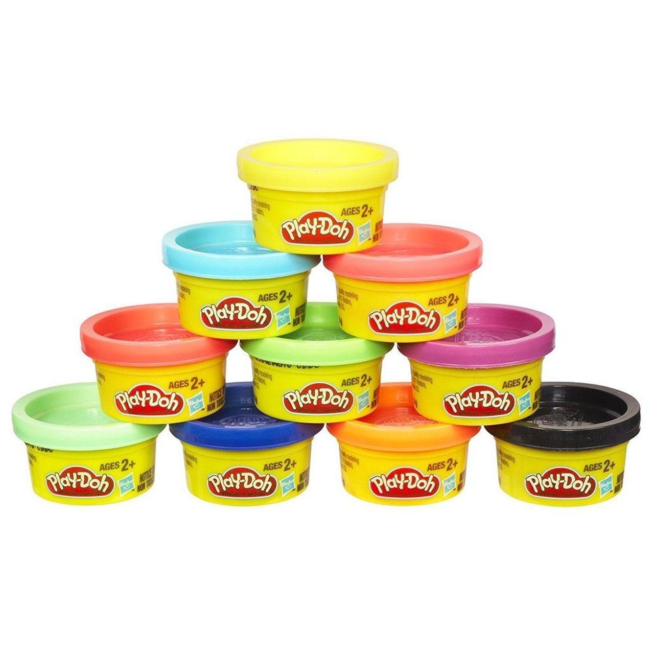 Massinha Play Doh Embalagem Com 10 Mini Potes - Hasbro