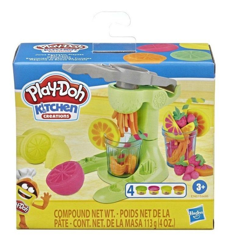 Massinha Play-Doh Maquina de Sucos Tropicais - Hasbro