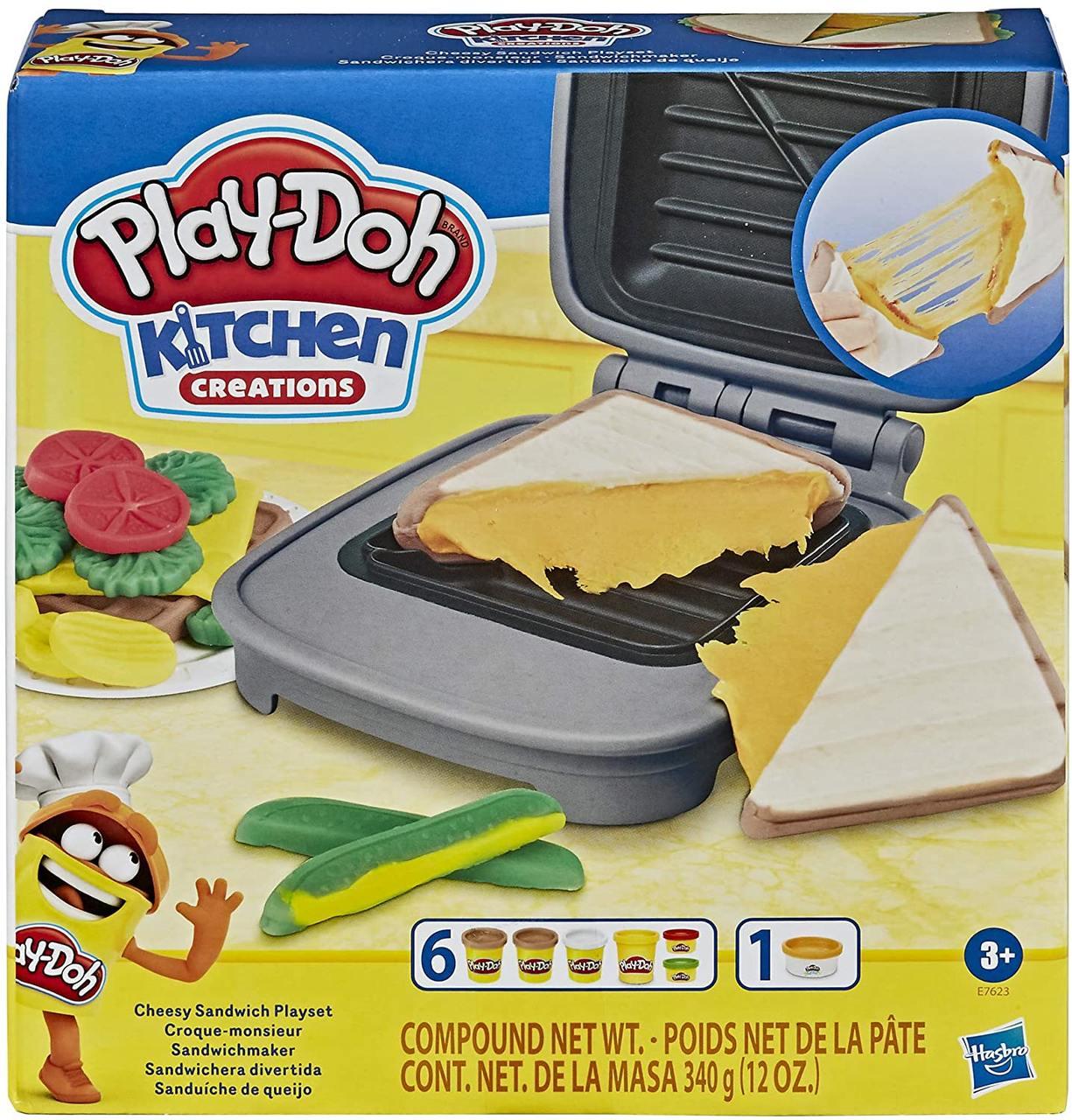 Massinha Play Doh Sanduíche de Queijo - Hasbro E7623