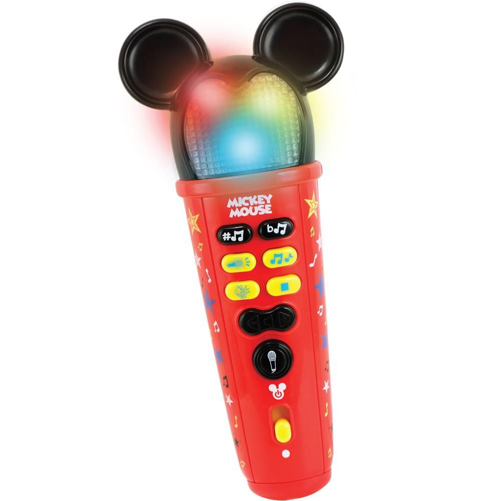 Microfone Musical Dican Disney Mickey Rockstar 3728