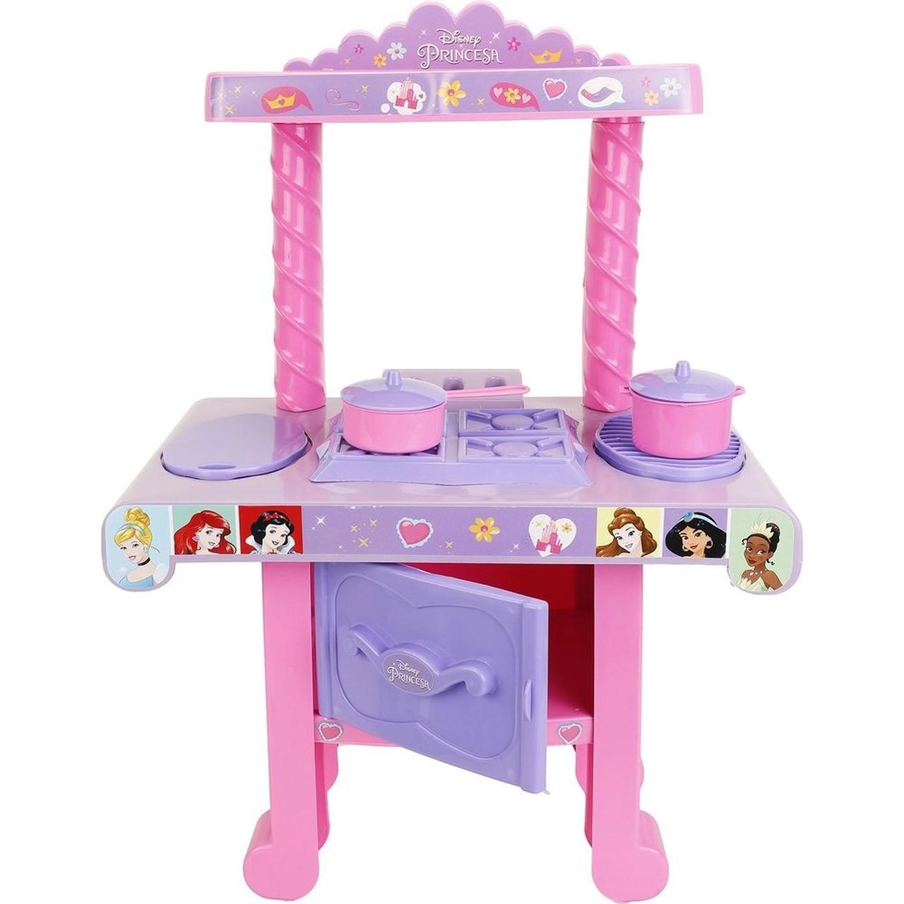 Mini Cozinha Princesas Infantil C/ Acessórios Mimo 6600