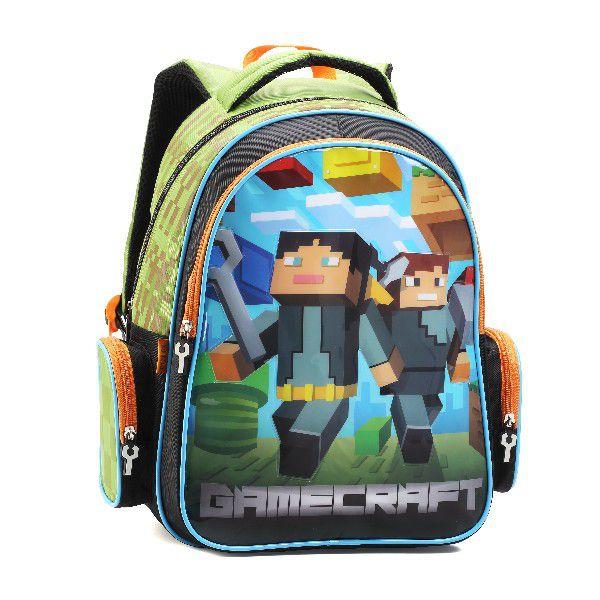 Mochila Infantil Game Craft - Denlex DL0638