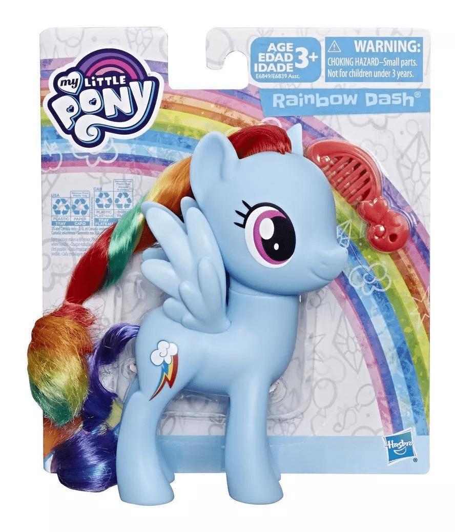 My Little Pony Boneca com Cabelo e pente - Hasbro Full