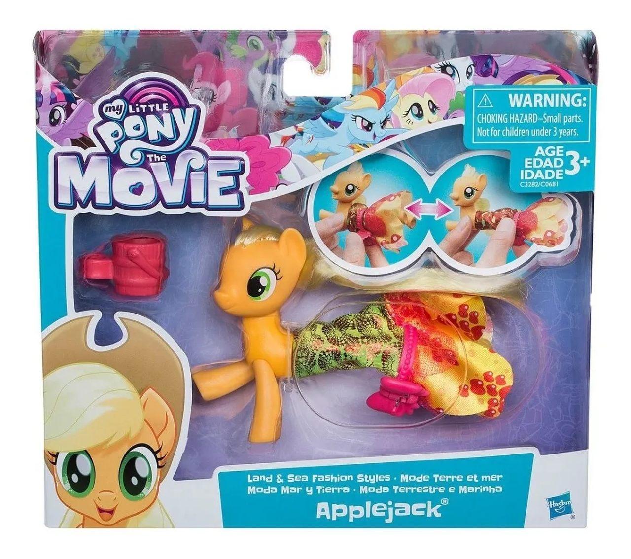 My Little Pony  Boneca Terra E Mar Applejack - Hasbro C0681