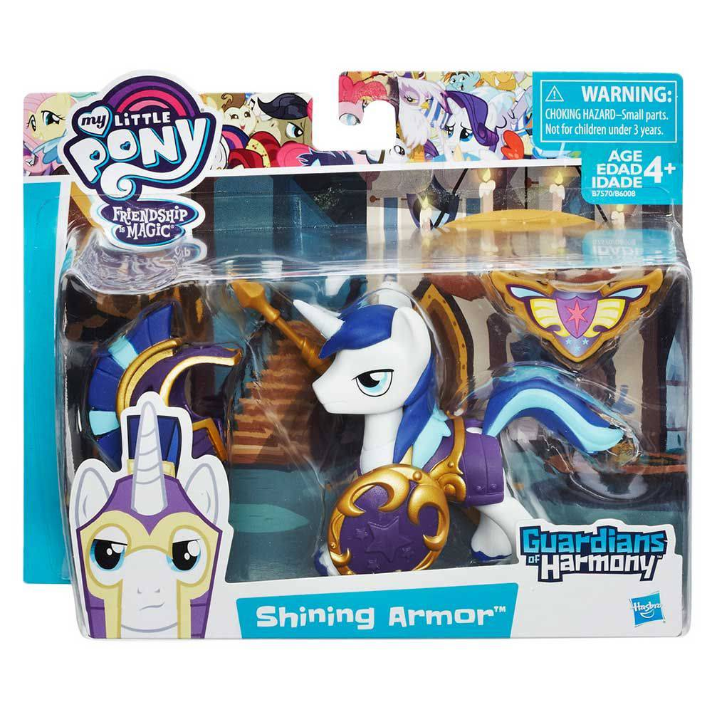 My Little Pony Guardiões Da Harmonia Shining Armor Hasbro