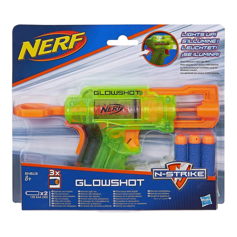 Nerf Glowshot Lançador De Dardos Hasbro - B4615
