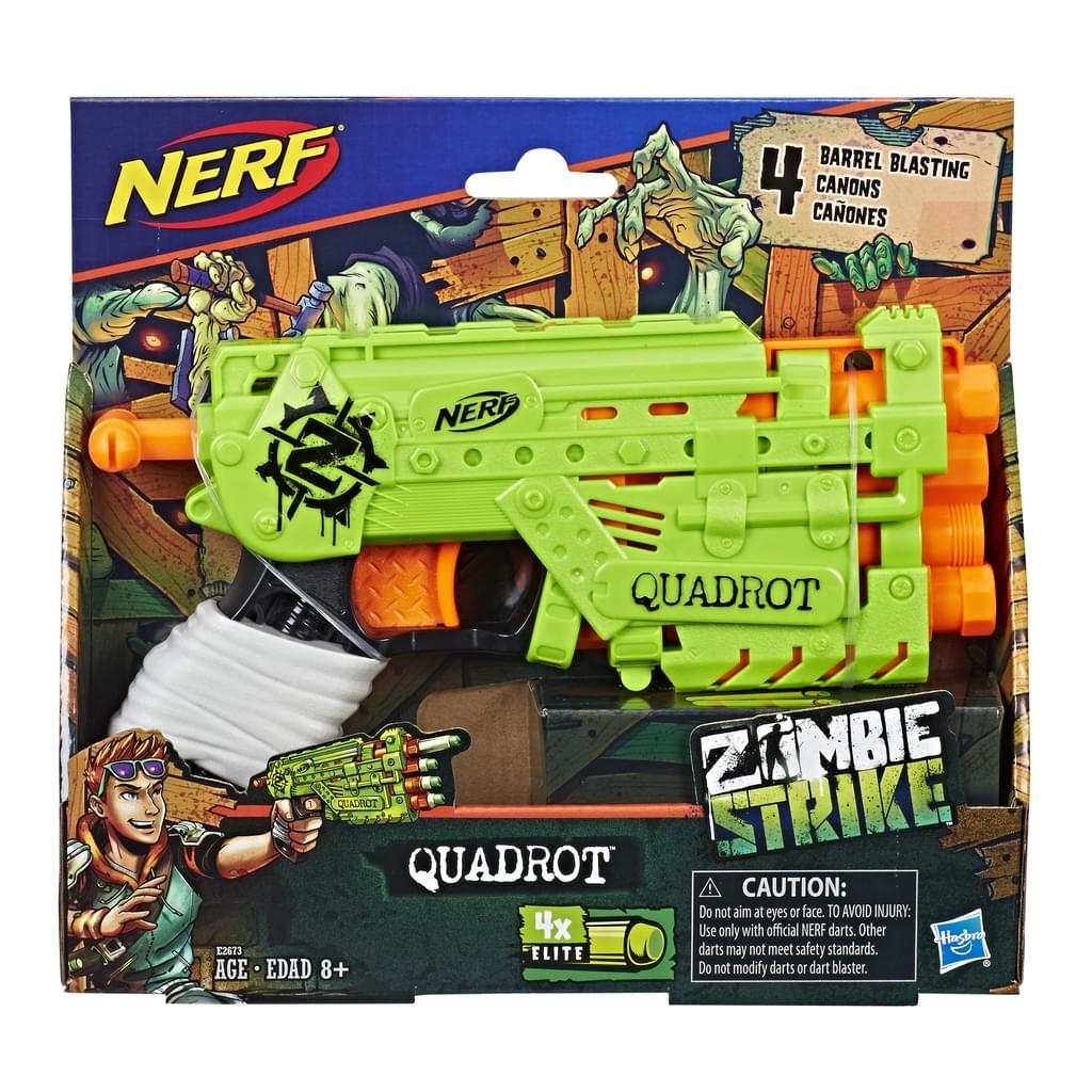Nerf Lançador De Dardos Quadrot - E3062 - Hasbro